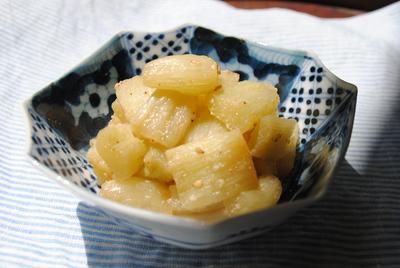 ずいきの胡麻酢和え_b0252363_14391671.jpg