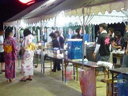 伝統芸能「盆踊り」 野路地区で!_e0175370_1528211.jpg