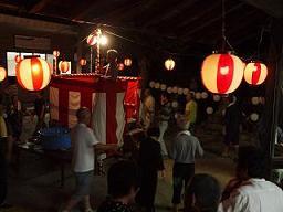 伝統芸能「盆踊り」 野路地区で!_e0175370_15302121.jpg