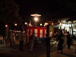 伝統芸能「盆踊り」 野路地区で!_e0175370_153058.jpg