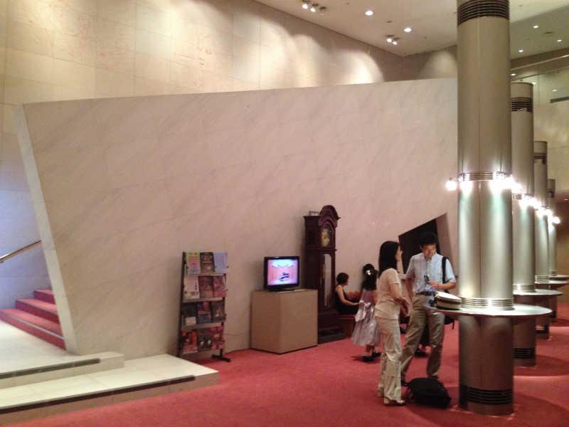 音楽ホール探訪5 墨田トリフォニーホール 小ホール_d0027290_5591948.jpg