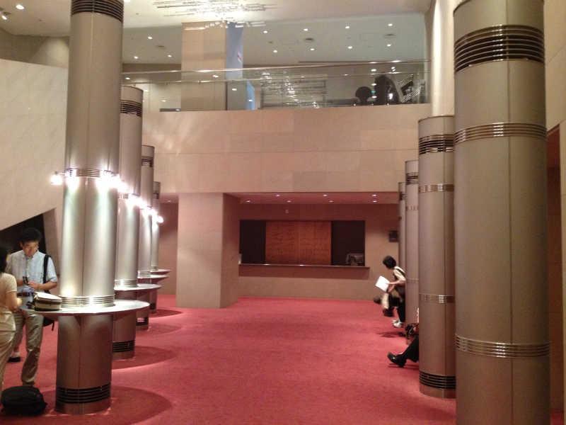 音楽ホール探訪5 墨田トリフォニーホール 小ホール_d0027290_5592864.jpg