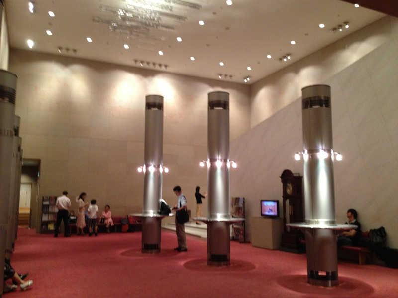 音楽ホール探訪5 墨田トリフォニーホール 小ホール_d0027290_5595927.jpg