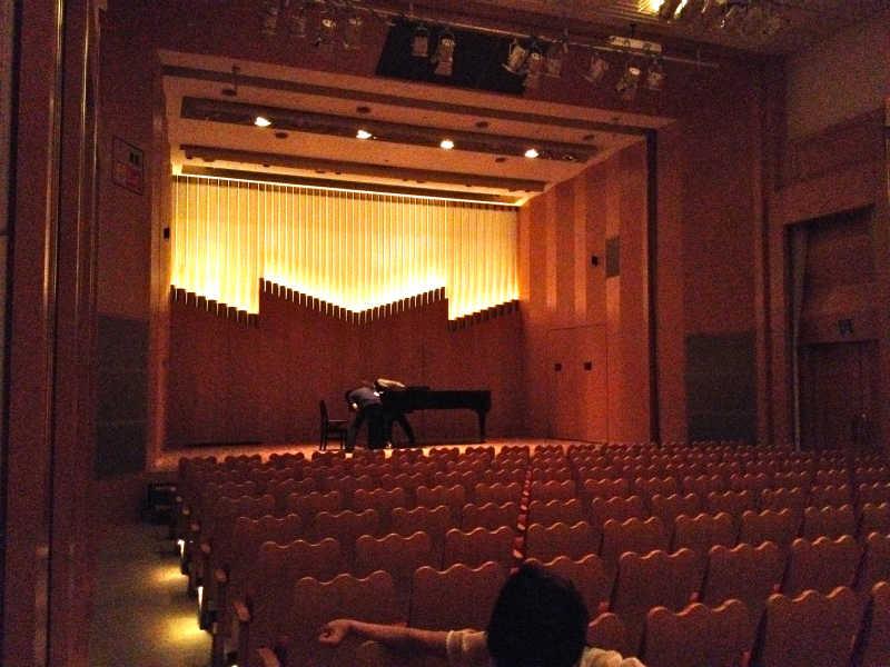 音楽ホール探訪5 墨田トリフォニーホール 小ホール_d0027290_601170.jpg
