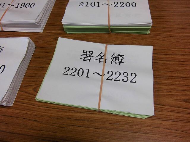 浜岡原発県民投票に向けた富士市分の署名数が確定 「16,933人」_f0141310_7454642.jpg