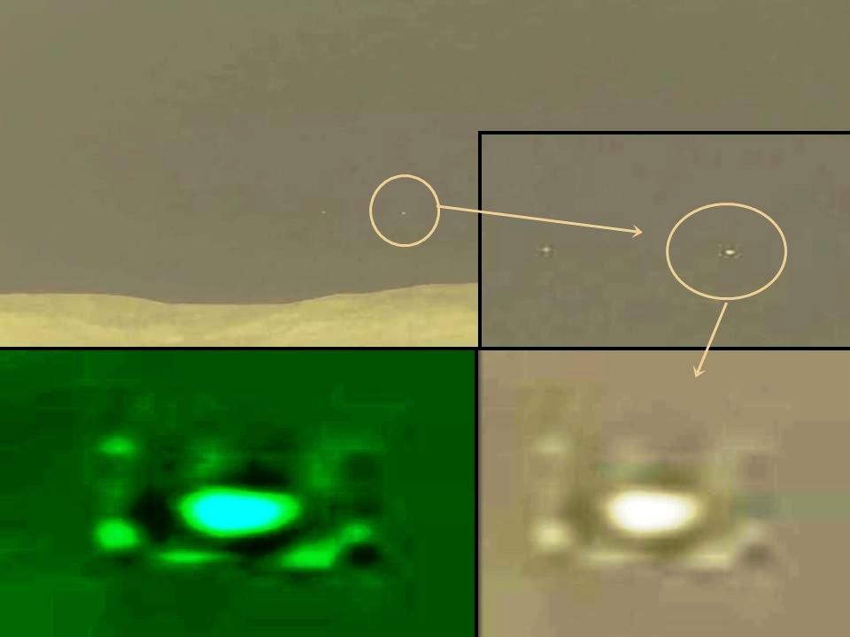 火星無人探査機「キュリオティシー(好奇心)」に好奇心を感じるUFOたち!?_e0171614_109820.jpg