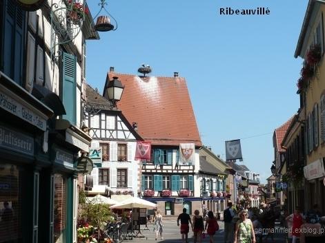 こうのとりに会った、Ribeauvillé_d0144726_5341280.jpg