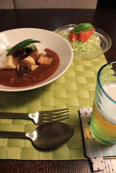 ・TEEMA×Kastehelmi 夏野菜カレー。_d0245268_1329397.jpg