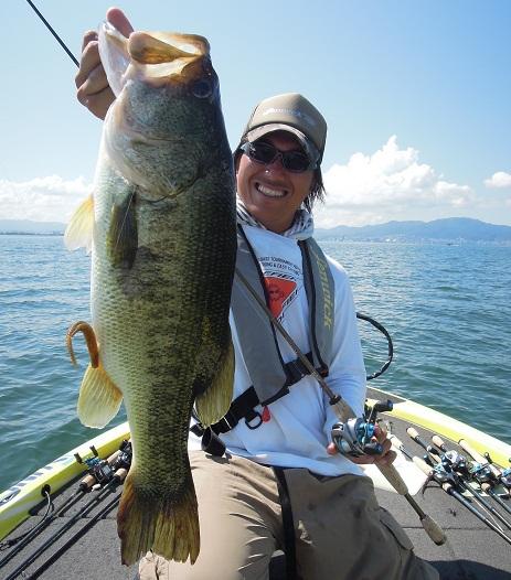 8月17日 琵琶湖ガイド。_f0135385_1574511.jpg