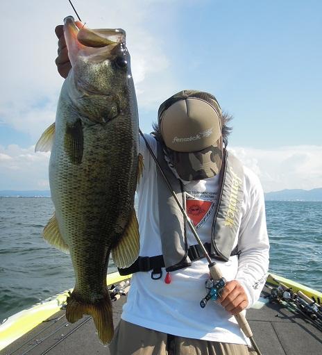 8月17日 琵琶湖ガイド。_f0135385_157555.jpg