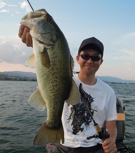 8月17日 琵琶湖ガイド。_f0135385_1582778.jpg
