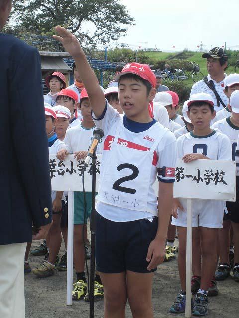 暑いけど不安定な天気の中で行なわれた富士市ジュニアゲートボール大会_f0141310_7363235.jpg