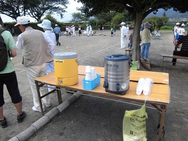 暑いけど不安定な天気の中で行なわれた富士市ジュニアゲートボール大会_f0141310_737346.jpg