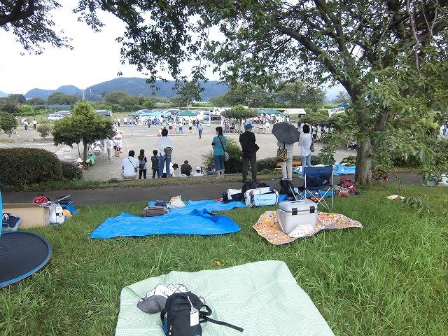 暑いけど不安定な天気の中で行なわれた富士市ジュニアゲートボール大会_f0141310_7374744.jpg
