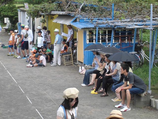暑いけど不安定な天気の中で行なわれた富士市ジュニアゲートボール大会_f0141310_738173.jpg