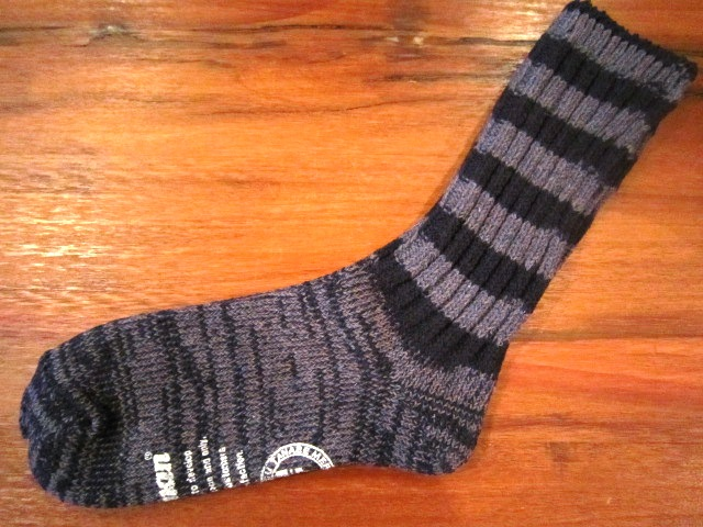 "Jackman ""Re Yarn Socks\"" ご紹介_f0191324_1722518.jpg"