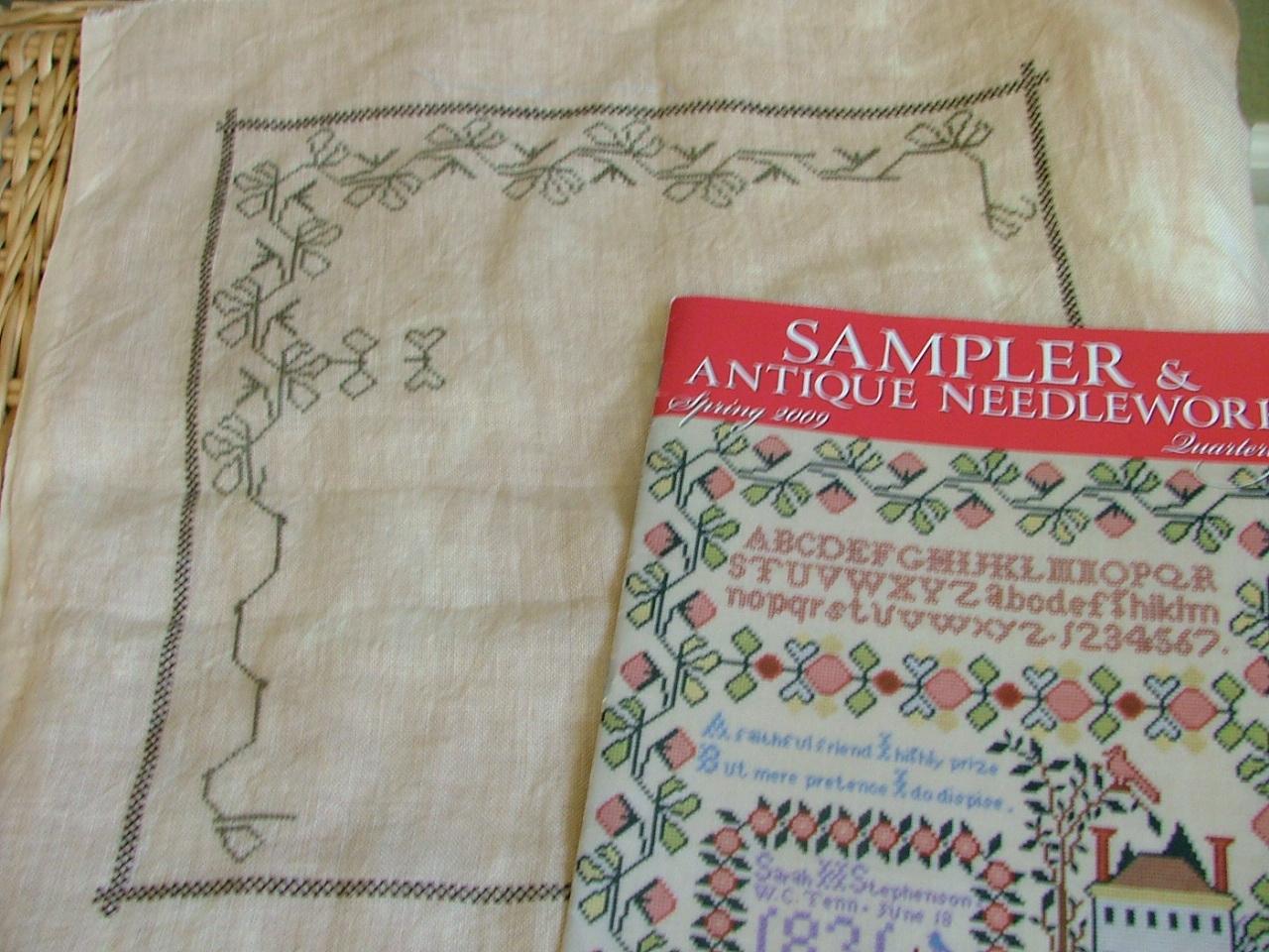 1831 Sarah Harriest Stephenson Sampler _e0127245_728241.jpg