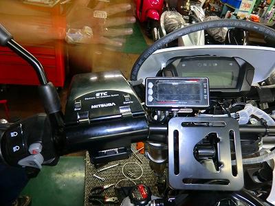 CRF250L 電装部品取付け!_e0114857_19232261.jpg