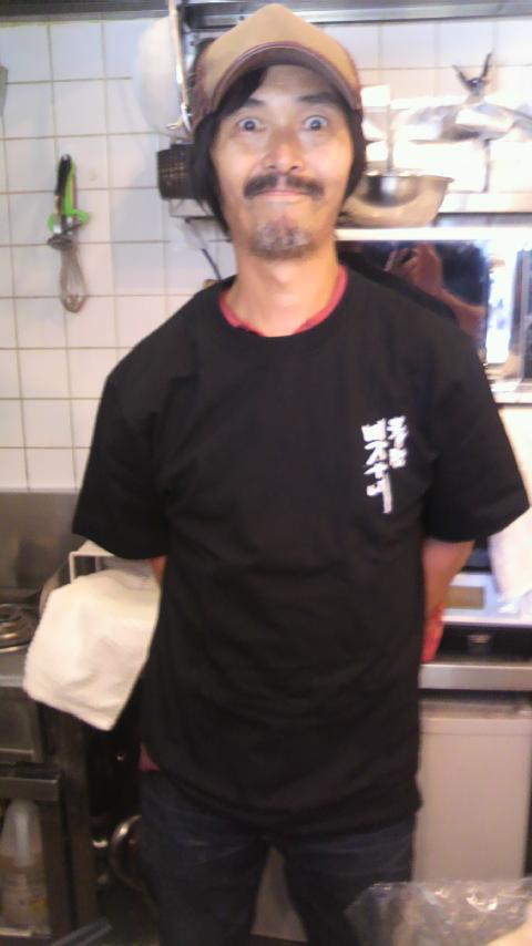 『中西圭三さんが四万十川Tシャツを』_a0075684_15462665.jpg