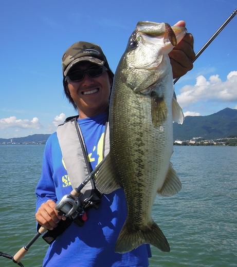 8月19日 琵琶湖ガイド。_f0135385_0473351.jpg
