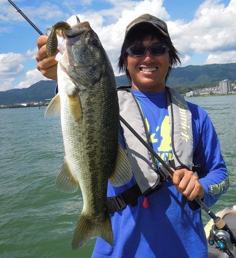 8月19日 琵琶湖ガイド。_f0135385_0481864.jpg