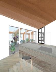 「温室のある家」の形ができるまで・・1_b0183404_6191771.jpg