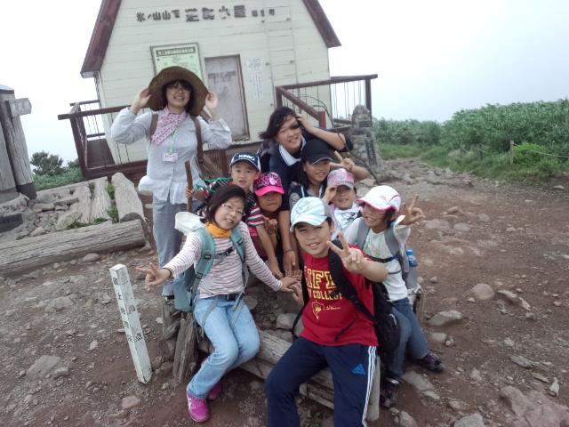 サマーキャンプ 3日目! ( 氷ノ山登山しました )_f0101226_13415162.jpg