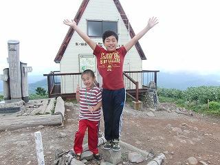 サマーキャンプ 3日目! ( 氷ノ山登山しました )_f0101226_1484454.jpg