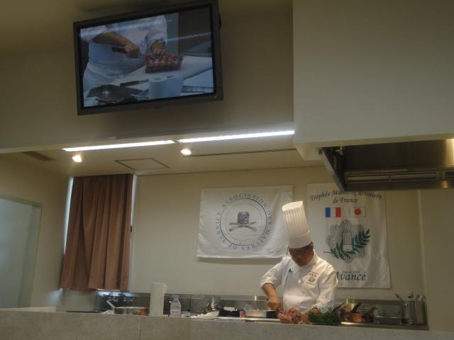 フランス料理文化センター主催料理講習会_c0220838_1637986.jpg