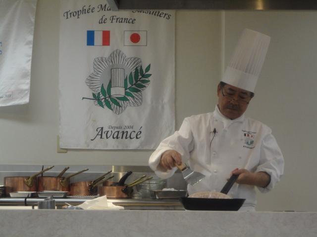 フランス料理文化センター主催料理講習会_c0220838_16384440.jpg