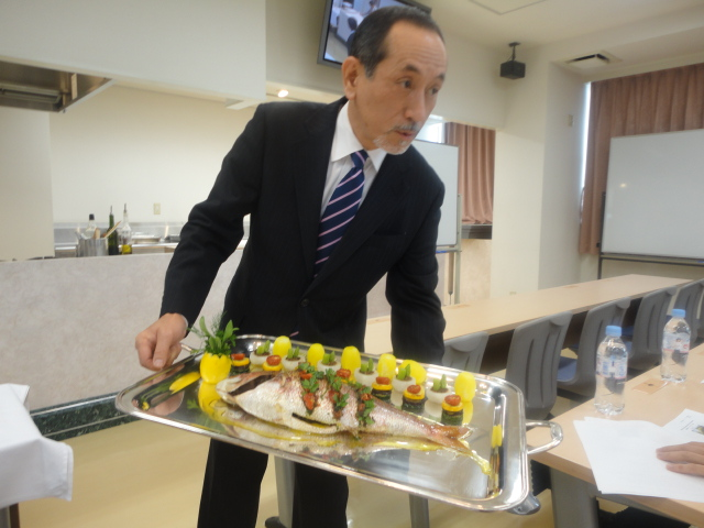 フランス料理文化センター主催料理講習会_c0220838_16405973.jpg