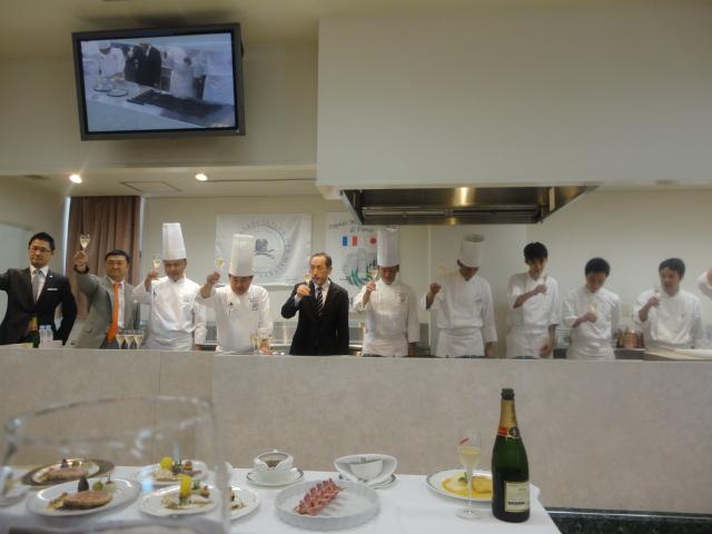 フランス料理文化センター主催料理講習会_c0220838_16552918.jpg