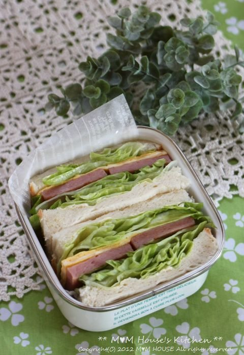 サンドイッチ弁当 ☆ 私的大満足 サラダプレート♪_c0139375_11164313.jpg