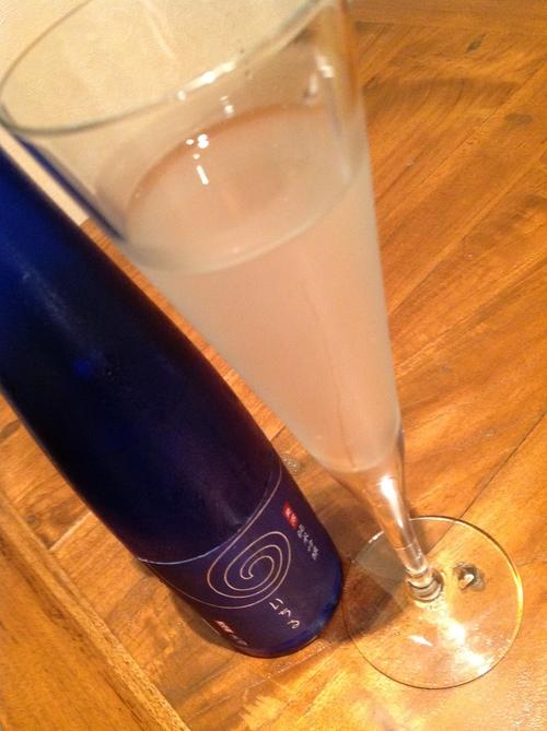 日本酒のシャンパーニュ!?_e0275281_16212253.jpg