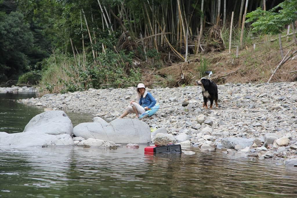 北川へ~初泳ぎ♪_b0135889_14302982.jpg