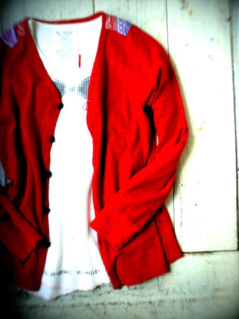 『赤を羽織る』_a0117545_1592650.jpg