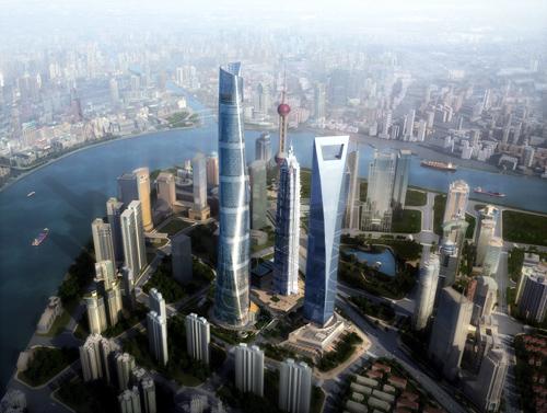 上海中心(上海タワー) : ひねく...