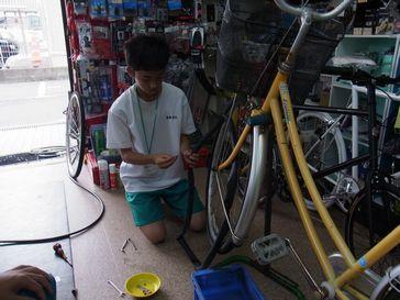 職場体験 最終日 _e0140354_1631440.jpg