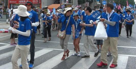 「水の祭典 久留米祭り」パレード!_f0120774_1571883.jpg