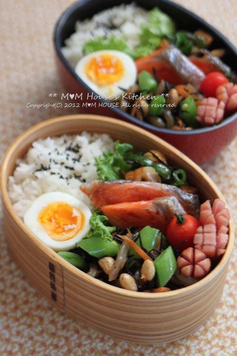 40代おばはんの筋肉痛(~ヘ~;) ☆ お弁当と昨日の晩ご飯♪_c0139375_145012.jpg