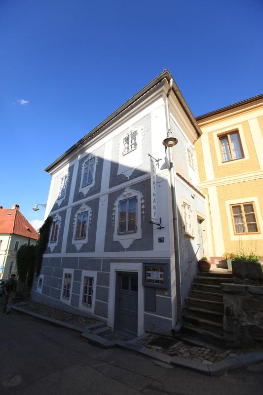 チェスキークルムロフの町並みが見えるホテル_c0187779_652459.jpg