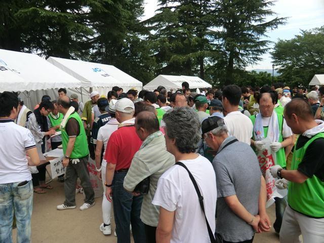 8/7 仙台七夕花火祭クリーン活動に参加しました_b0245781_11263046.jpg