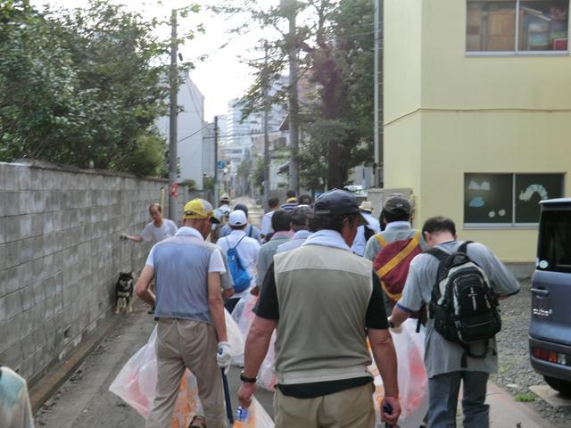 8/7 仙台七夕花火祭クリーン活動に参加しました_b0245781_1127079.jpg