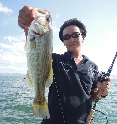8月23日 琵琶湖ガイド。_f0135385_2152532.jpg