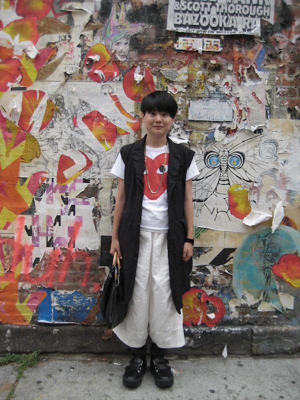 BLACK COMME DES GARCON and TOKYO BOPPER_e0232531_1315335.jpg