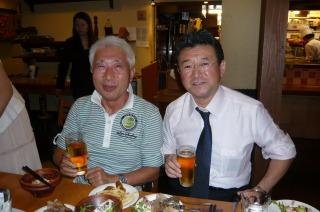 元テレビ朝日アナウンサーの、さとう一声さんと・・・。_f0112951_8344394.jpg