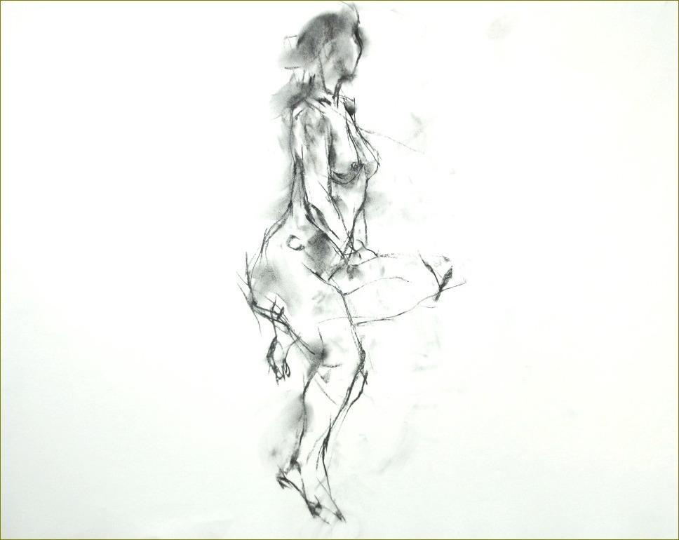 《裸婦クロッキー10分》_f0159856_215178.jpg