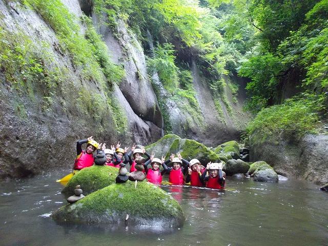 女祭り、オッターのキャニオニングツアーin由布川渓谷_f0230770_21214528.jpg