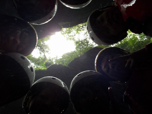 女祭り、オッターのキャニオニングツアーin由布川渓谷_f0230770_21284578.jpg