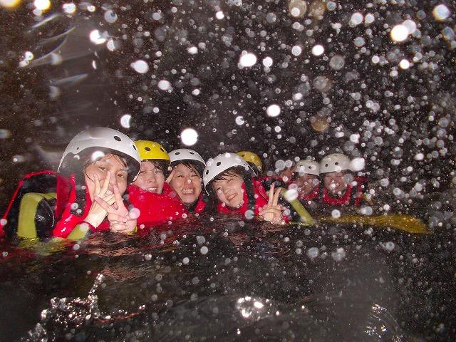 女祭り、オッターのキャニオニングツアーin由布川渓谷_f0230770_21422669.jpg